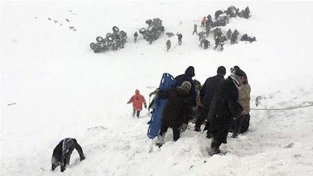 Τουρκία: Τραγωδία από τις χιονοστιβάδες-38 νεκροί (Συγκλονιστικά video)
