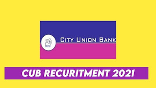 City Union Bank Recruitment 2021 Apply Online for General Managers Post at cityunionbank.com