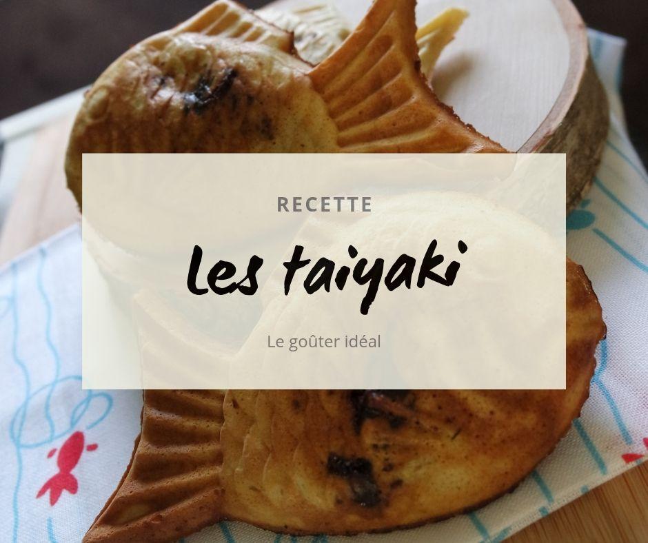 Recette taiyaki