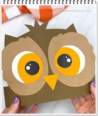 How the Easy Owl Headband Craft