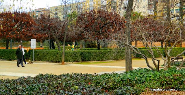 Parque Federico Garcia Lorca, Granada, Espanha