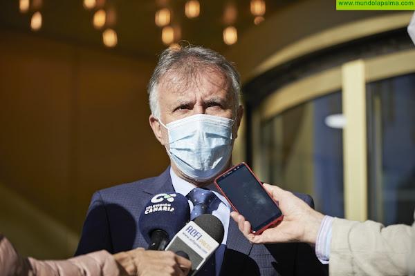 Torres pone a Canarias como ejemplo de diálogo y consenso institucional ante la crisis de la COVID