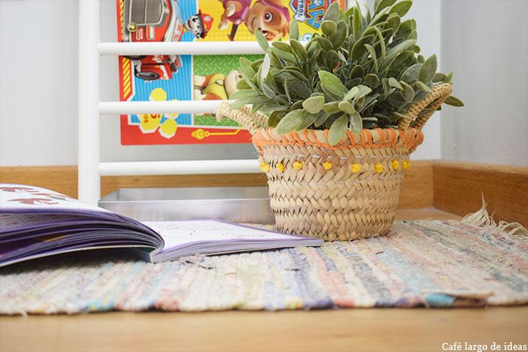 Rincón de lectura handmade