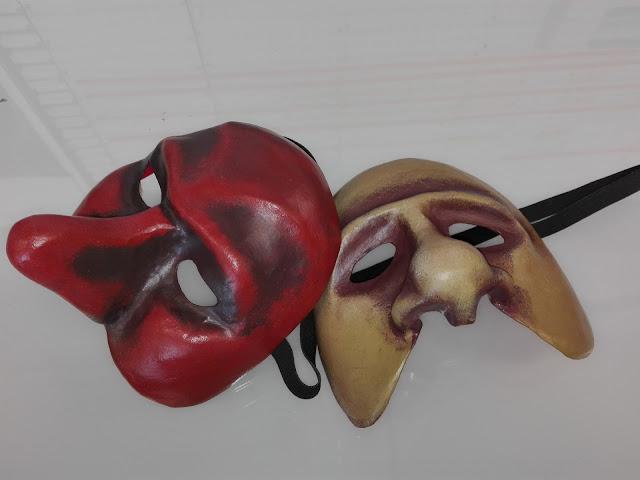 Heidididit. commedia dell`arte naamio. Miten tehdään