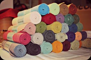 feutrine laine et viscose, felt, feutrine