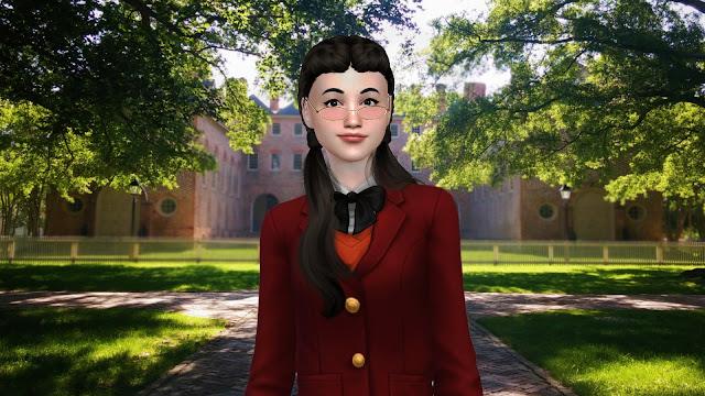 Sims 4 Cassandra Goth