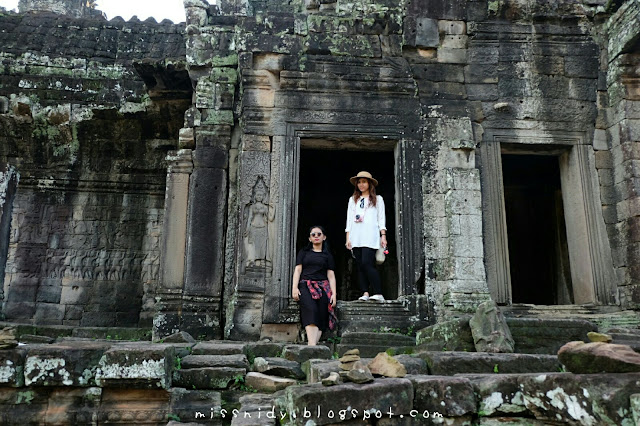 bayon temple location