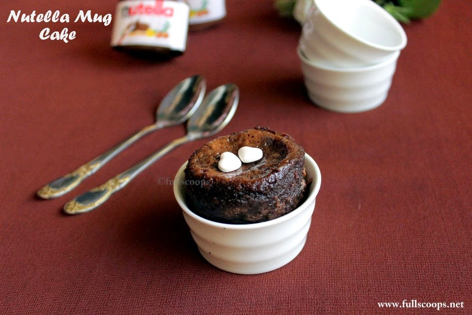 Ingredient Mug Cake With Hersheys Dark Mildly Sweet Chocolate