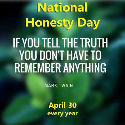 Honesty Day Wishes