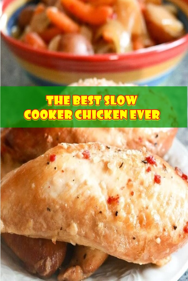 #The #Best #Slow #Cooker #Chicken #Ever