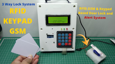 How To Make RFID & Keypad Based Door Lock