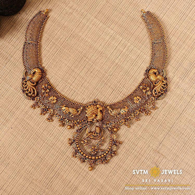 Antique Mesh Necklaces