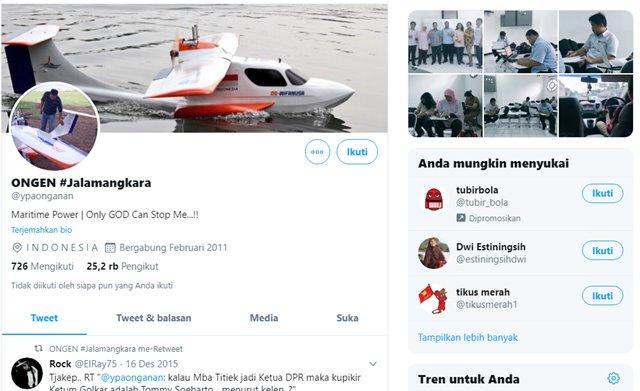 Oknum Dosen IPB Pemilik Twitter ypaonganan Resmi di Bui Mahkamah Agung