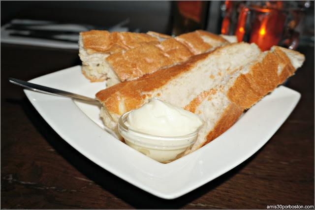 Pan con Alioli del Restaurant Vlaming en Amsterdam