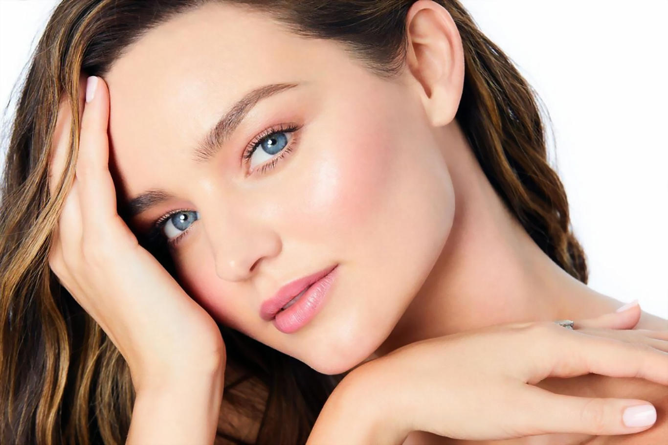 Miranda Kerr Peerles Face HD Wallpaper