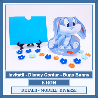 http://www.bebestudio11.com/2017/12/bugs-bunny-invitatii-botez-disney-contur.html