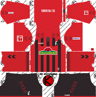 SC Freiburg 2019/2020 Kit - Dream League Soccer Kits