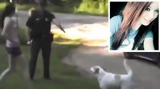 dog, pet, abusive cop