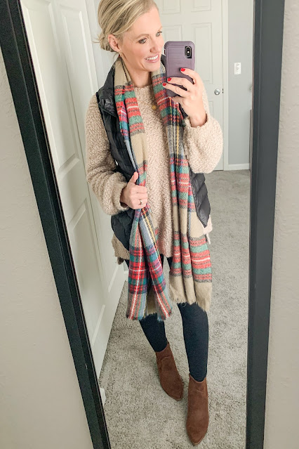 Winter mom outfit || Thrifty Wife Happy Life