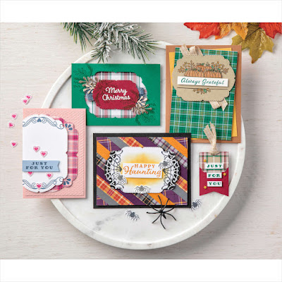 Stampin' Up! Celebration Tidings Cards ~ August-December 2020 Mini Catalog #stampinup