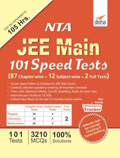 Disha Publication: NTA JEE Main 101 Speed Tests