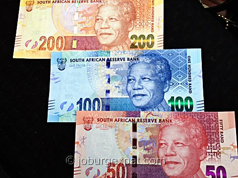 South African Rand bills