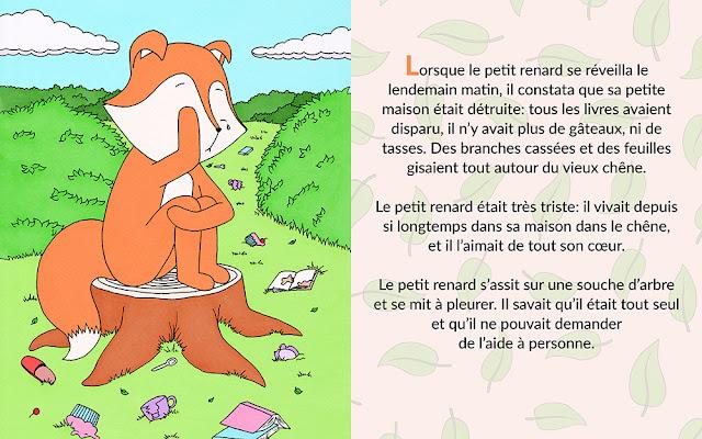 Le petit renard - livres pour les bébés et enfants
