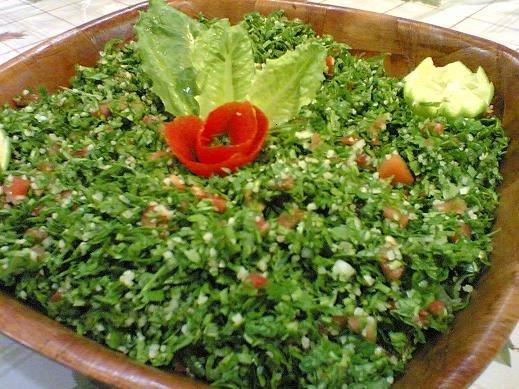Tabbouleh (tangy parsley salad recipe)