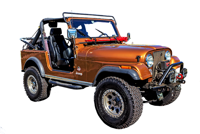Jeep Cj with winch