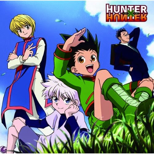 Departure, Hunter x Hunter, Hunter x Hunter opening, Main four, Gon, Killua, Leorio, Kurapika