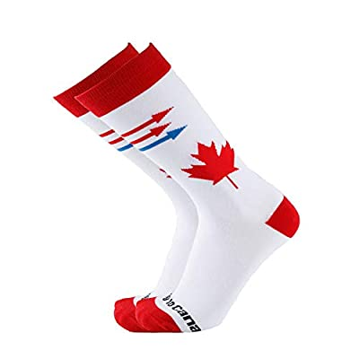 80% OFF Men Women Colorful Patterned Fashion Crew Socks Pizza Moving to Canada
