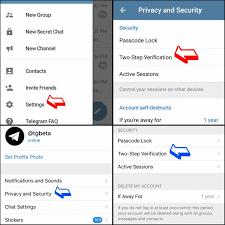 two-step verification telegram
