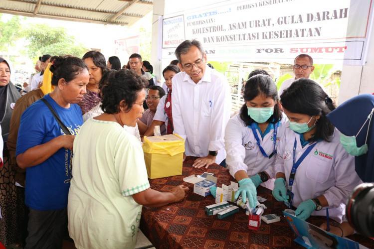 Pemeriksaan Kesehatan Gratis, Sihar: Pemerintah Harus Jamin Kesehatan Masyarakat