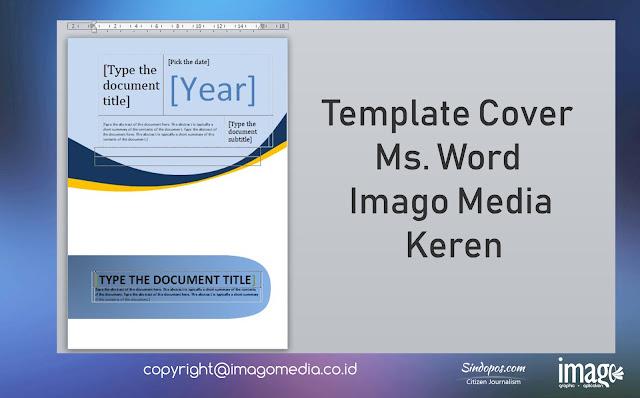 Template Cover Ms. Word Imago Media Keren