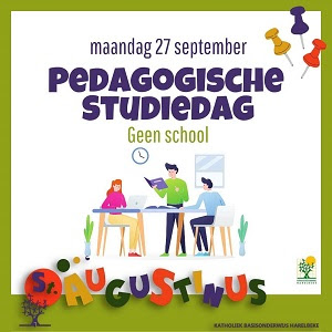 MAANDAG 27/09 :  PEDAGOGISCHE   STUDIEDAG