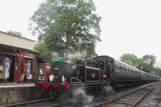 The Kent & East Sussex Steam Railway East Sussex England