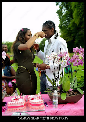 amarakanu+lindaikejiblog Photos from Kanu Nwankwos wifes 25th birthday and graduation