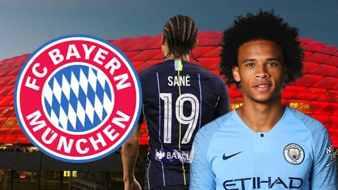 Bayern Munich agree to sign Leroy Sane from Manchester City for £54.8m in a five-year deal