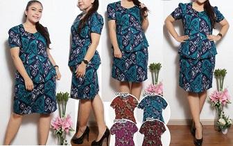 Tips Memilih Model Baju Batik Untuk Orang Gemuk Agar Terlihat