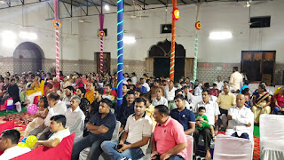 जैन समाज बागपत द्वारा आयोजित भजन संध्या में उमड़ी भीड़ | #NayaSaberaNetwork