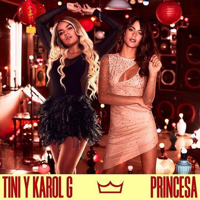 """Tini, Karol G - """"Princesa"""""""