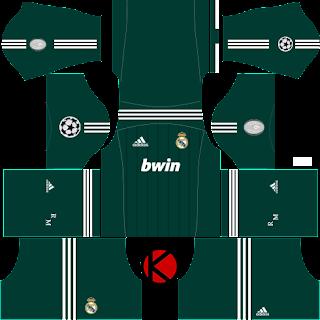 Real Madrid Kits 2012/2013 - Dream League Soccer