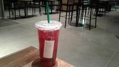 Starbucks Trenta iced Passion Tea refill