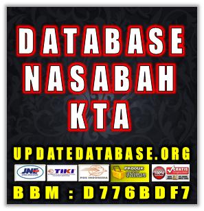 Jual Database Nasabah Bank Prioritas KTA