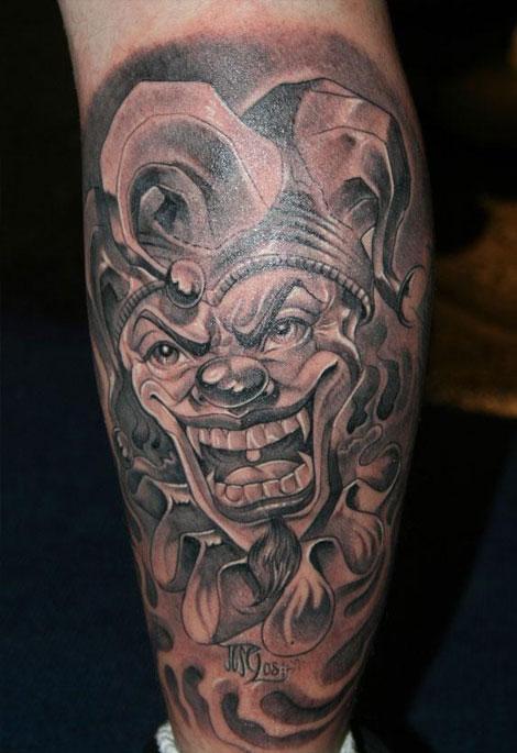 Outra História Curinga Tatuagens E Seus Significados