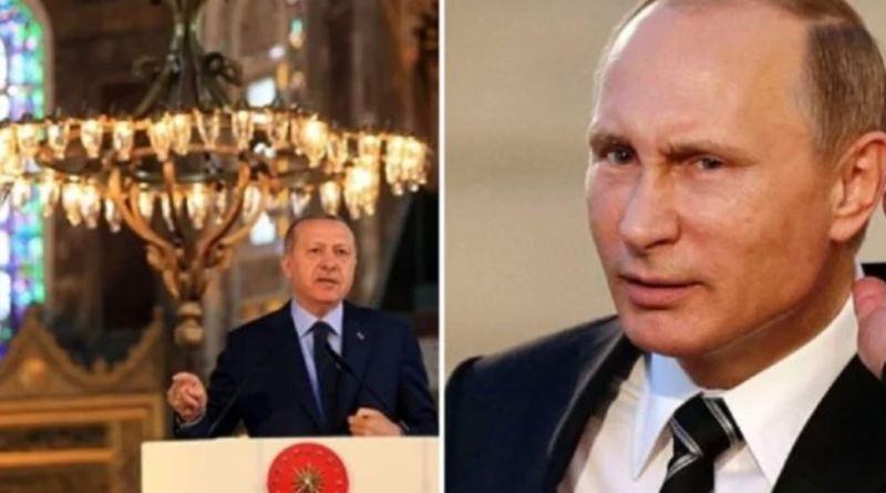 Ρωσικοί Κεραυνοί Κατά Ερντογάν: «Μην Τολμήσεις Να Κάνεις Τζαμί Την Αγία Σοφία»