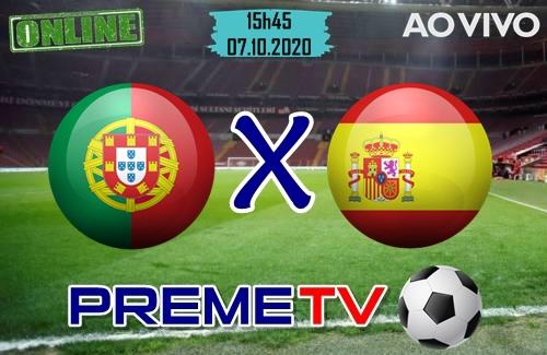 Portugal x Espanha Ao Vivo