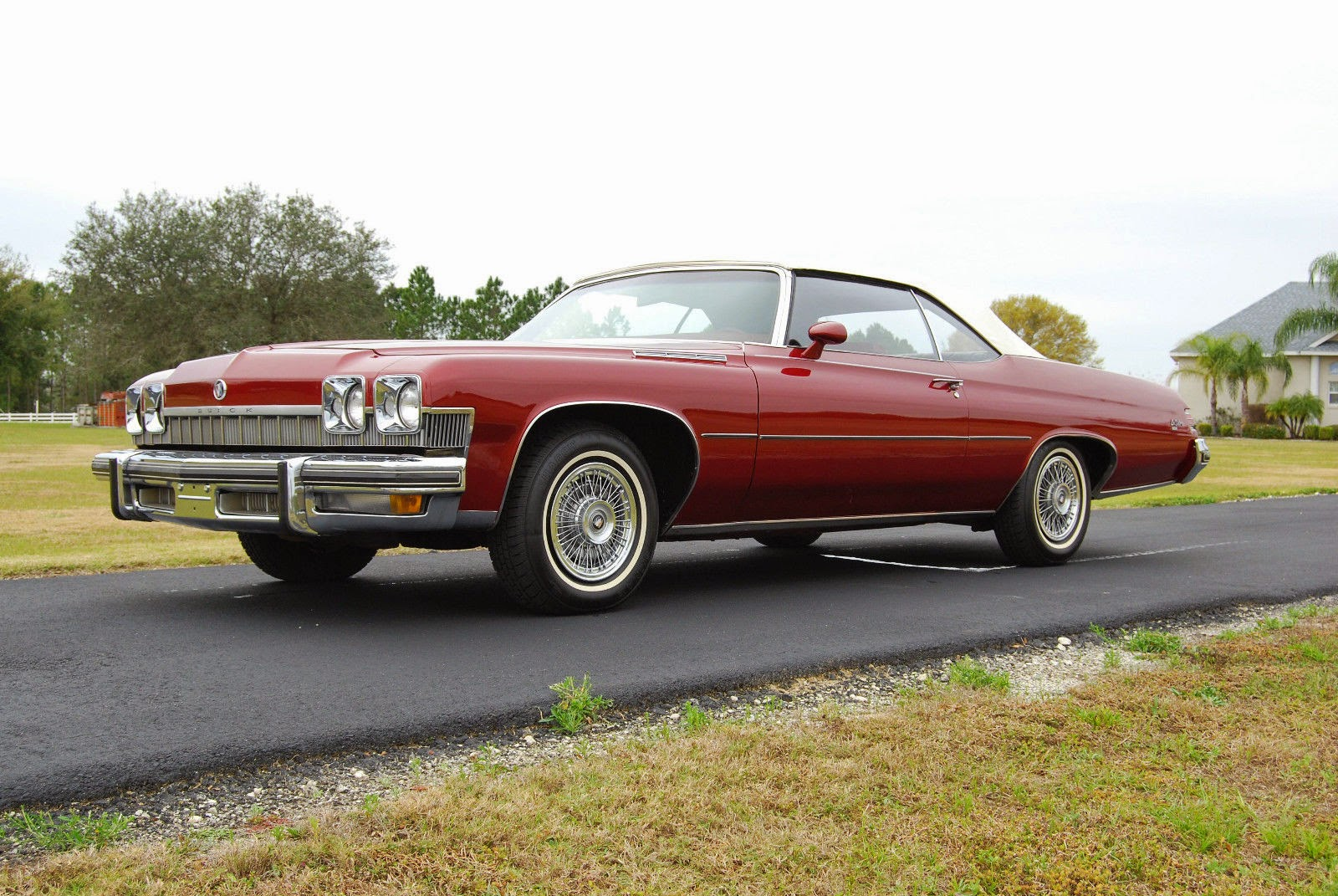 Two Door Cars All American Classic Cars 1974 Buick Lesabre Luxus 2 Door