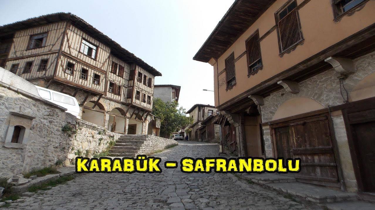 2018/10/19 Karadeniz'in batısı Marmara'nın doğusu (Karabük - Safranbolu - Yenice)