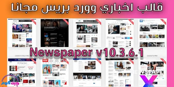 قالب Newspaper وردبريس النسخة v10.3.6.1 GPL